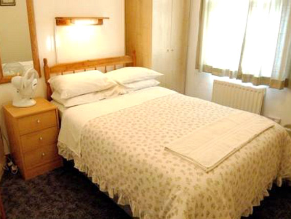 A double room at St Georges Lodge is perfect for a couple