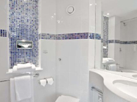 Ensuite bathroom at The Re Hotel London Shoreditch