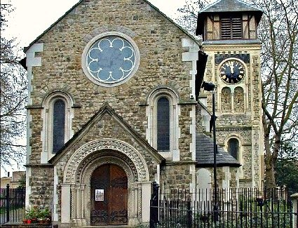 Book a hotel near Old St Pancras Church