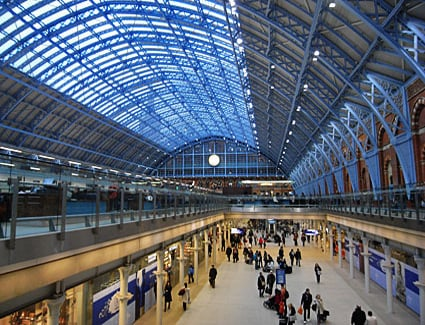 Book a hotel near St Pancras Train Station