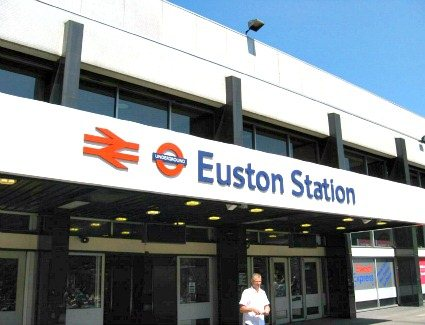 Book a hotel near Euston Station