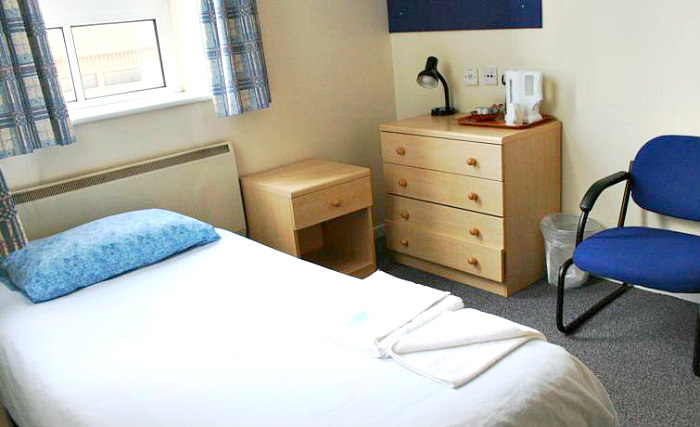 Get a good night's sleep in your comfortable room at Bankside Apartments
