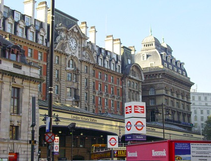 Victoria Train Station, London