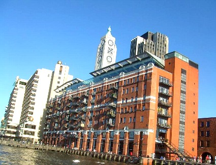 Book a hotel near Oxo Tower and Gabriels Wharf