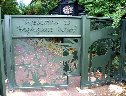 Book a hotel near Highgate Wood