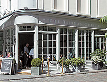 Book a hotel near The Thomas Cubitt