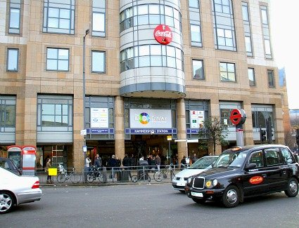 Book a hotel near Hammersmith Broadway Shopping Centre