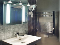 Your ensuite bathroom will be chic and modern