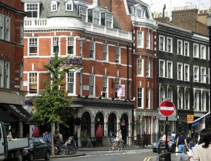 Book a hotel near Marylebone High Street