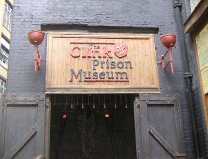 Book a hotel near The Clink Museum