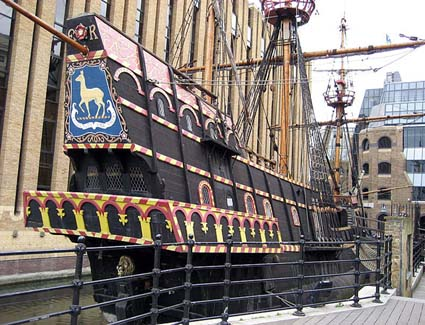Book a hotel near The Golden Hinde