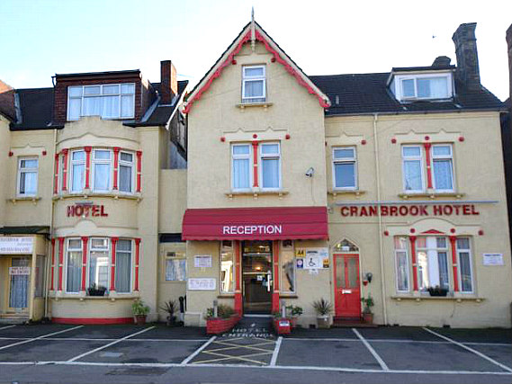 Cranbrook Hotel is situated in a prime location in Ilford close to the Olympic Park