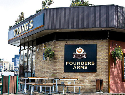 Book a hotel near The Founders Arms