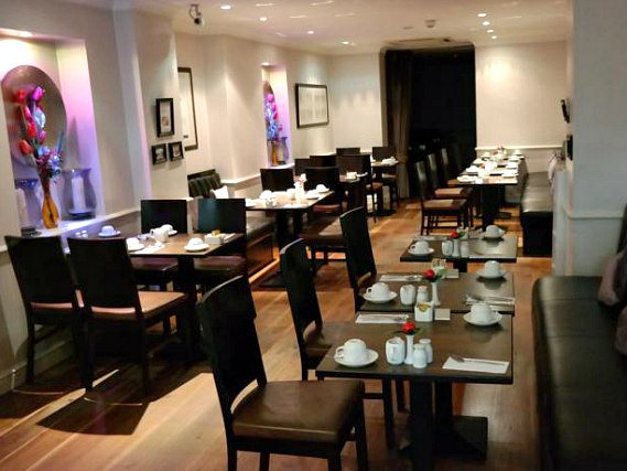 A place to eat at Commodore Hotel London