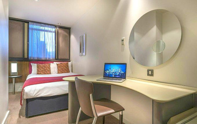 A double room at Corus Hyde Park Hotel