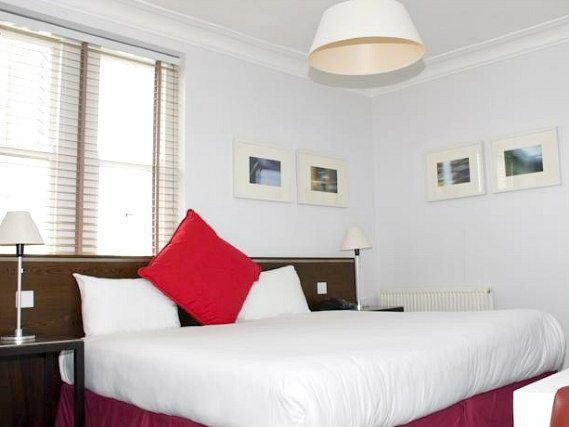 A double room at Kensington Rooms Hotel is perfect for a couple