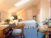 A room at Regency Hotel London