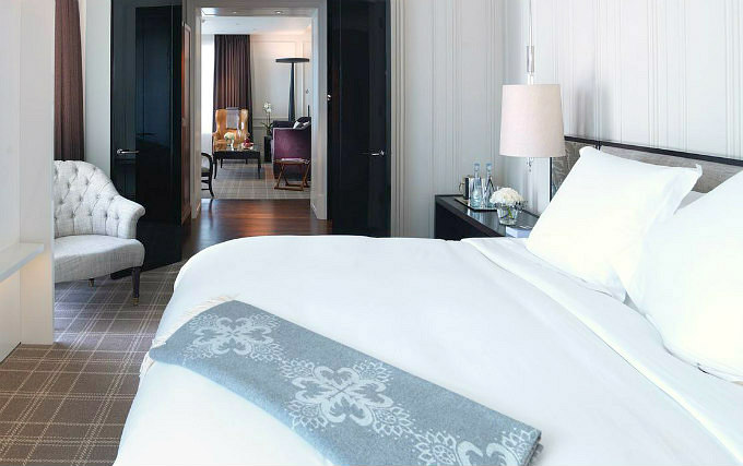 A double room at Rosewood London