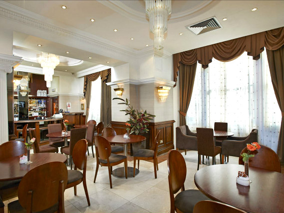 A place to eat at Royal Eagle Hotel London