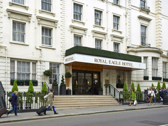 The staff are looking forward to welcoming you to Royal Eagle Hotel London