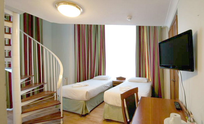 Family rooms at Royal Eagle Hotel London