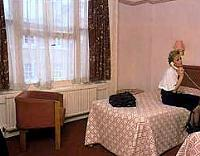 A room at Norfolk Towers Hotel London