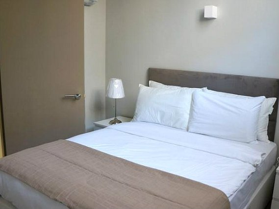 Double room at So Arch Aparthotel
