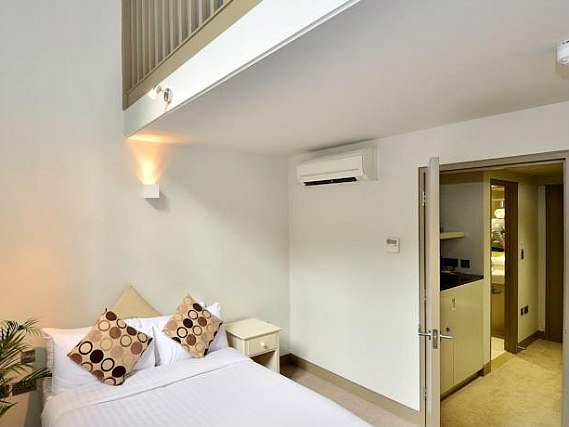 Get a good night's sleep at So Arch Aparthotel