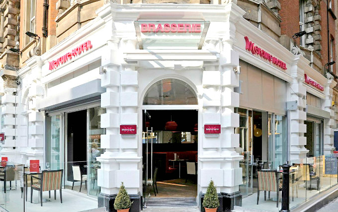The exterior of Hotel Mercure London Bloomsbury
