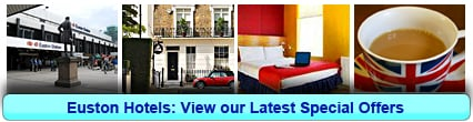 Euston Hotels: Book from only £19.75 per person!
