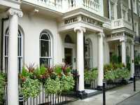 The exterior of Nayland Hotel London