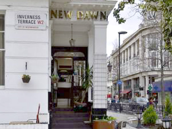 New Dawn Hotel London is situated in a prime location in Bayswater close to Kensington Gardens