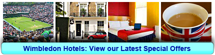 Wimbledon Hotels: Book from only £12.25 per person!