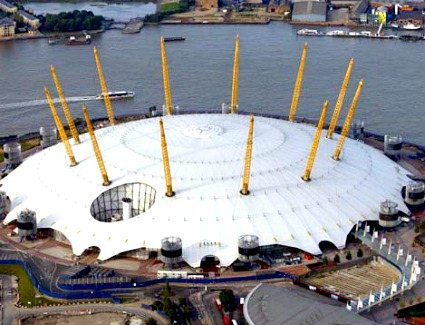 The O2 Arena London S Gest Entertainment Venue