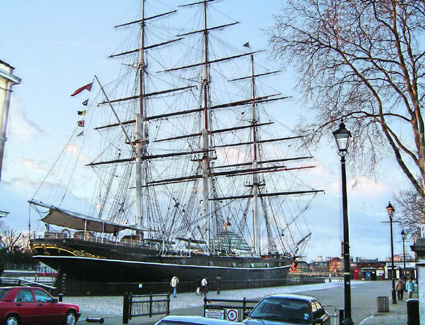 Book a hotel near The Cutty Sark