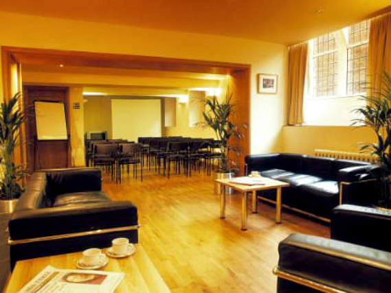 Relax in the lounge at Durham Castle