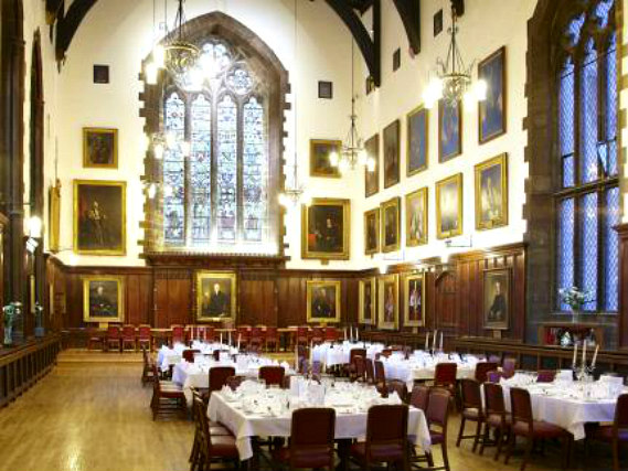 Wedding room at Durham Castle