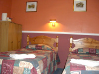 Twin rooms are also available