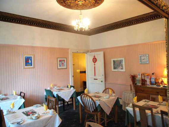A place to eat at Hermitage Guest House