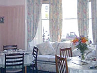 Breakfast room at Hermitage Guest House