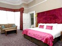 A double room at Murrayfield Hotel