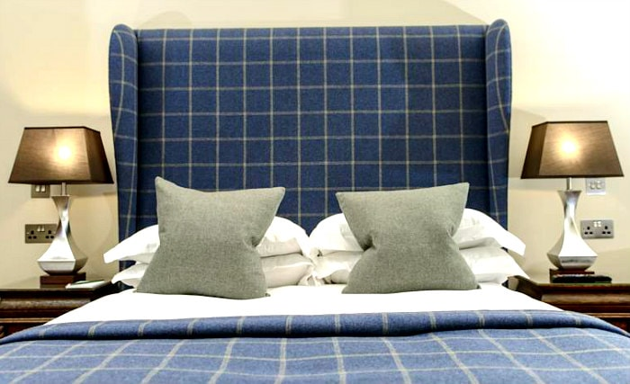 Rooms are simple but clean at Raeburn House Hotel