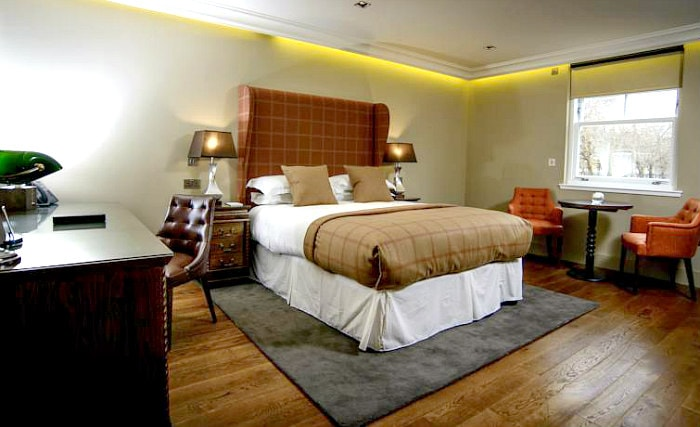 Get a good night's sleep in your comfortable room at Raeburn House Hotel