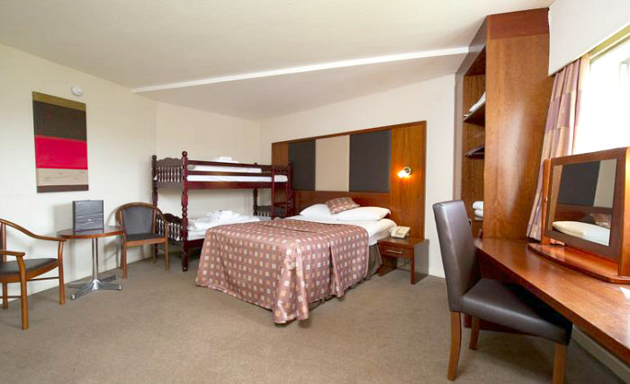Quad rooms at Normandy Hotel are the ideal choice for groups of friends or families
