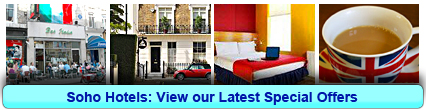 Soho Hotels: Book from only £15.00 per person