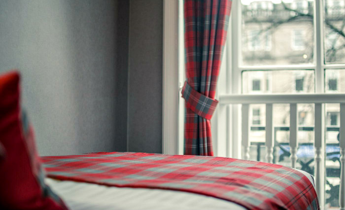 Get a good night's sleep in your comfortable room at Argyll Guest House
