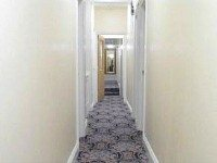 The hallway at Best Western Ilford Hotel
