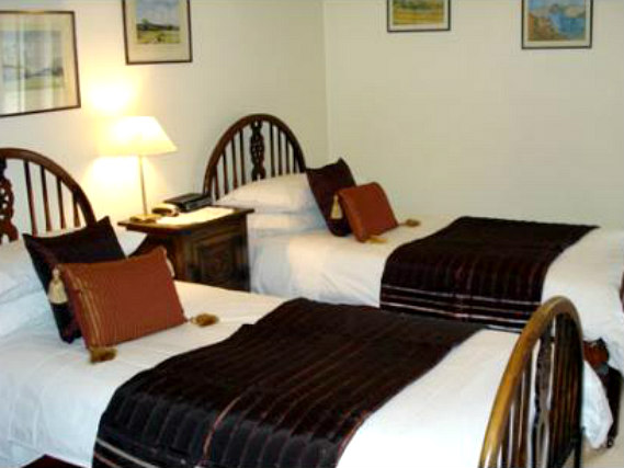 A twin room at Best Inn Hotel is perfect for two guests