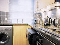 Kitchen at Anchorage Apartments and George IV TopFloor!