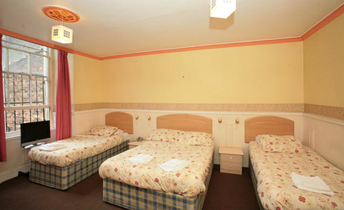 Quad rooms at Mclays Guest House are the ideal choice for groups of friends or families